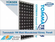 Güneş paneli Tommatech